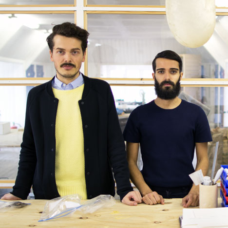 Simone Farresin and Andrea Trimarchi of Formafantasma