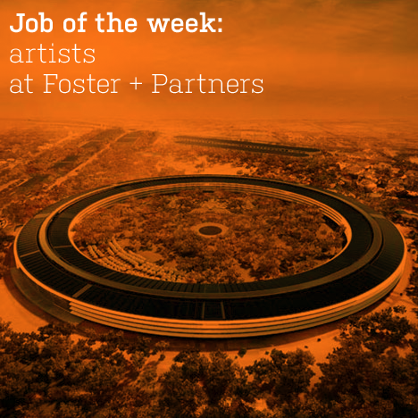 Job of the week: artists at Foster + Partners
