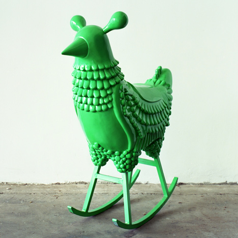 Green Chicken by Jaime Hayón