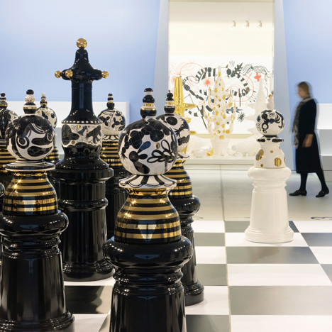 "Jaime Hayón says his Groninger Museum exhibition is full of ""all kinds of crazy products"""