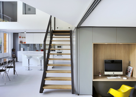 Garden flat in Lyon by Danke Architectes