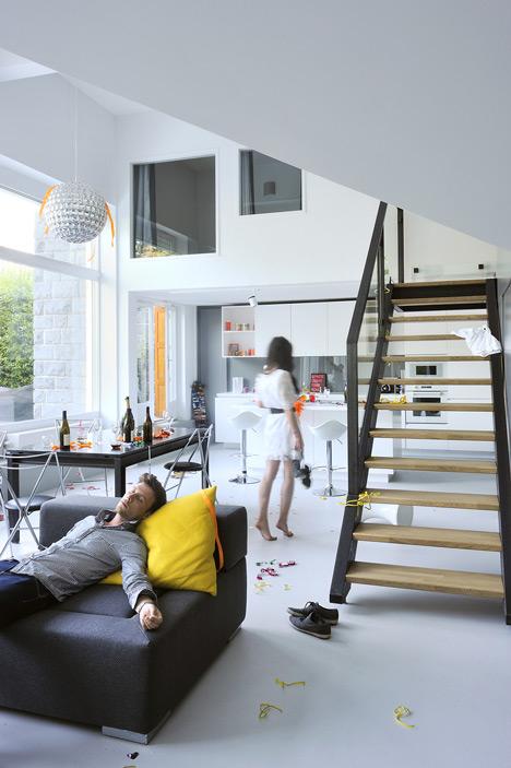 Garden flat in Lyon by Danke Architectes