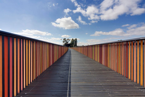 GASP! by Room 11 is a sequence of riverside pavilions and boardwalks