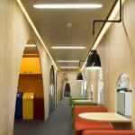 Google's colourful Madrid headquarters by Jump Studios