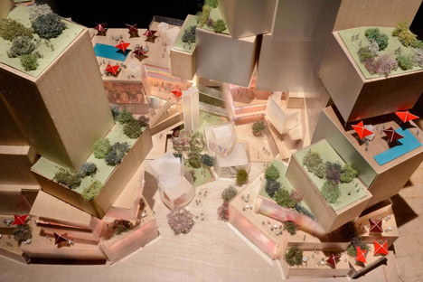 Grand Avenue complex by Frank Gehry and Related Companies