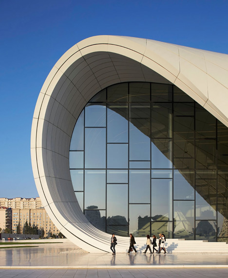 Heydar Aliyev Center by Zaha Hadid Architects