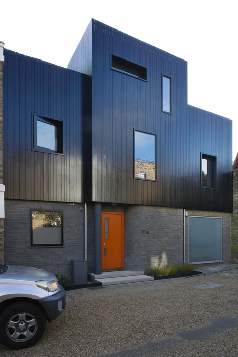 Highbury Terrace Mews by Studio 54 Architecture