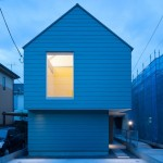 House in Tsurumaki with a hexagonal living room by Case-Real