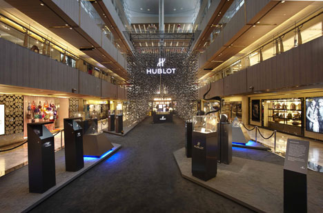 Hublot pop-up store by Asylum Creative