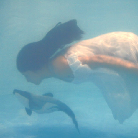I Wanna Deliver A Dolphin... concept for humans giving birth to their food by Ai Hasegawa