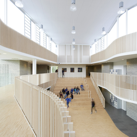 International School Ikast-Brande by C.F. Moller