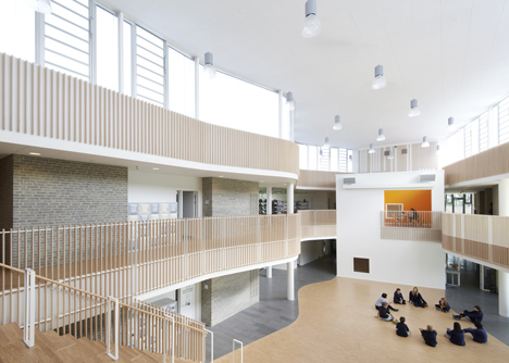 International School Ikast-Brande by C.F. Møller