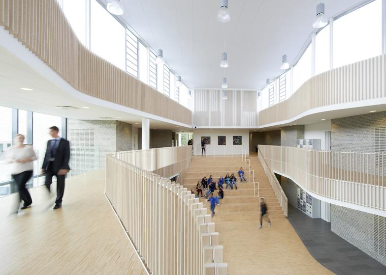 International School Ikast-Brande by C.F. Møller
