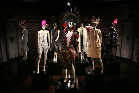 Isabella Blow Fashion Galore exhibition at Somerset House_dezeen_10