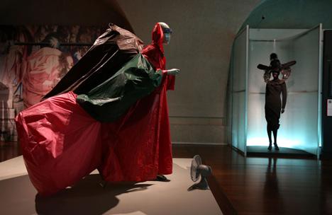 Isabella Blow Fashion Galore exhibition at Somerset House_dezeen_12