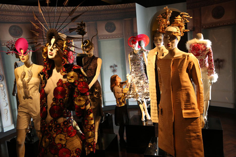 Isabella Blow Fashion Galore exhibition at Somerset House_dezeen_17