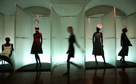 Isabella Blow Fashion Galore exhibition at Somerset House