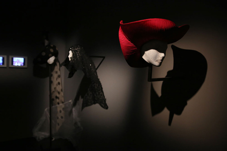 Isabella Blow Fashion Galore exhibition at Somerset House_dezeen_26