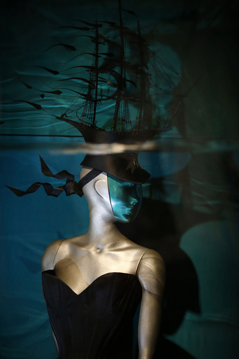 Isabella Blow Fashion Galore exhibition at Somerset House_dezeen_29
