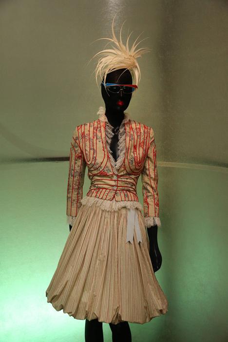 Isabella Blow Fashion Galore exhibition at Somerset House_dezeen_31