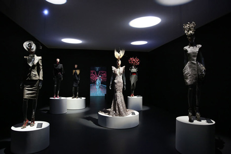Isabella Blow Fashion Galore exhibition at Somerset House_dezeen_35