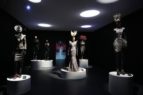 Isabella Blow Fashion Galore exhibition at Somerset House_dezeen_35