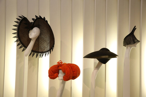 Isabella Blow Fashion Galore exhibition at Somerset House_dezeen_45