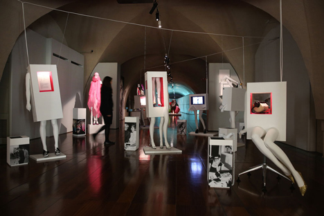 Isabella Blow Fashion Galore exhibition at Somerset House_dezeen_6