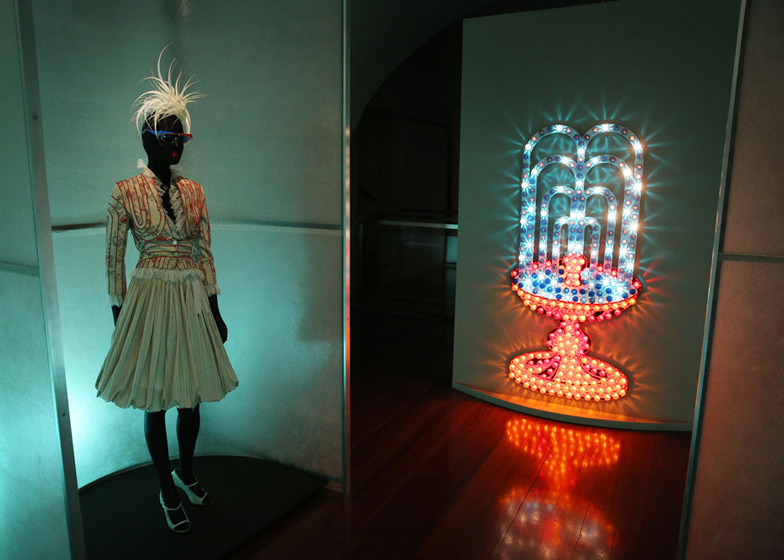 Isabella Blow Fashion Galore exhibition at Somerset House_dezeen