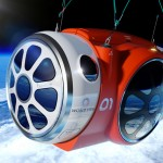 Journey to Space capsule for space tourists by Priestmangoode