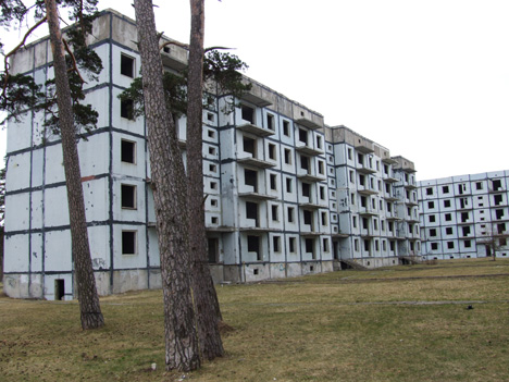 Karosta apartment blocks