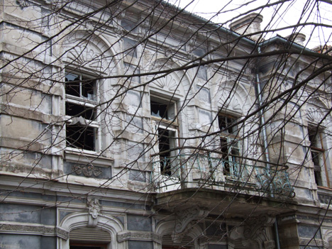 Karosta ruined building