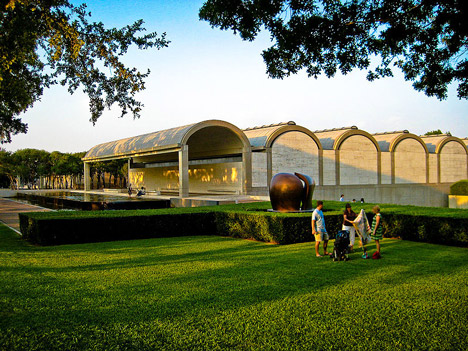 Kimbell Art Museum by Louis Kahn