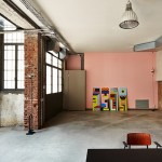 MSGM fashion headquarters in a former blacksmith's workshop by Fabio Ferrillo