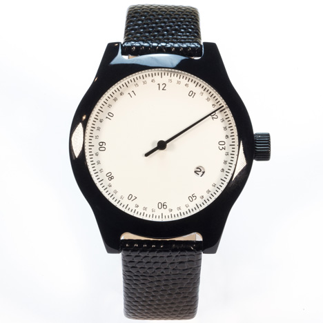 Minuteman watches by Squarestreet at Dezeen Watch Store - One Hand Black