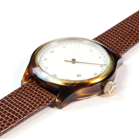 Minuteman watches by Squarestreet at Dezeen Watch Store - One Hand Tortoise