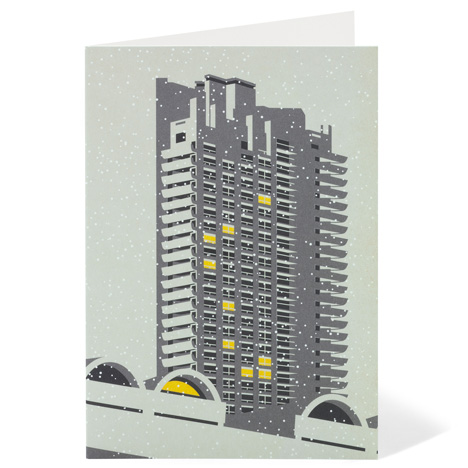 Competition: five packs of Modernist London Christmas cards to be won