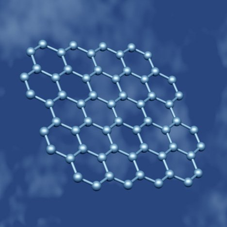 Molecular structure of graphene