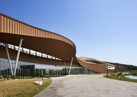 National Ecology Center botanic greenhouses by Grimshaw and Samoo