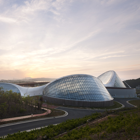 National Ecology Center botanic greenhouses by Grimshaw and Samoo