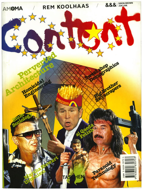 Cover of Content by Rem Koolhaas