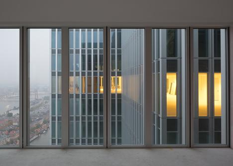 OMA completes De Rotterdam building