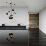 ON Headquarters with a pool of oil in the lobby by LSA Arquitectos and BLANCASMORAN