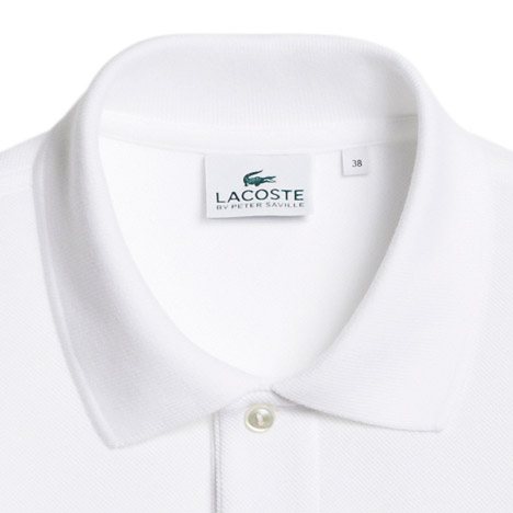 74df5e387ee244 Peter Saville abstracts Lacoste logo for Holiday Collector polo shirts