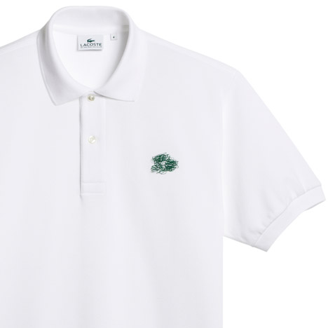 Peter Saville holiday collector polo shirts for Lacoste