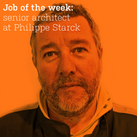 Job of the week: senior architect at Philippe Starck