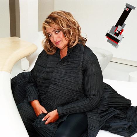 Zaha Hadid to exhibit work by her favourite fashion designer