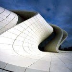 Heydar Aliyev Center by Zaha Hadid photographed by Hélène Binet
