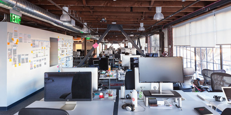Pinterest Headquarters by All of the Above and First Office