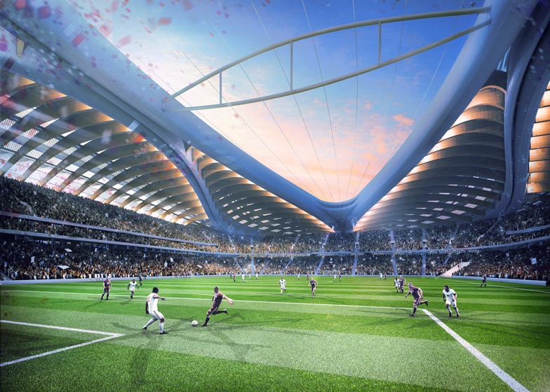 Qatar 2022 World Cup by Zaha Hadid